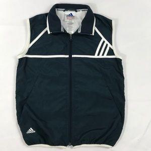 Adidas- Vintage Adidas windbreaker vest size S